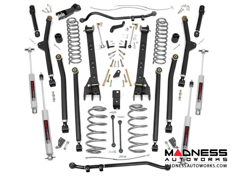 "Jeep Wrangler TJ 4WD X-Series Long Arm Suspension System - 6"" Lift"